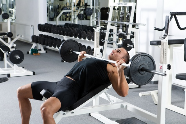 incline bench press for gains